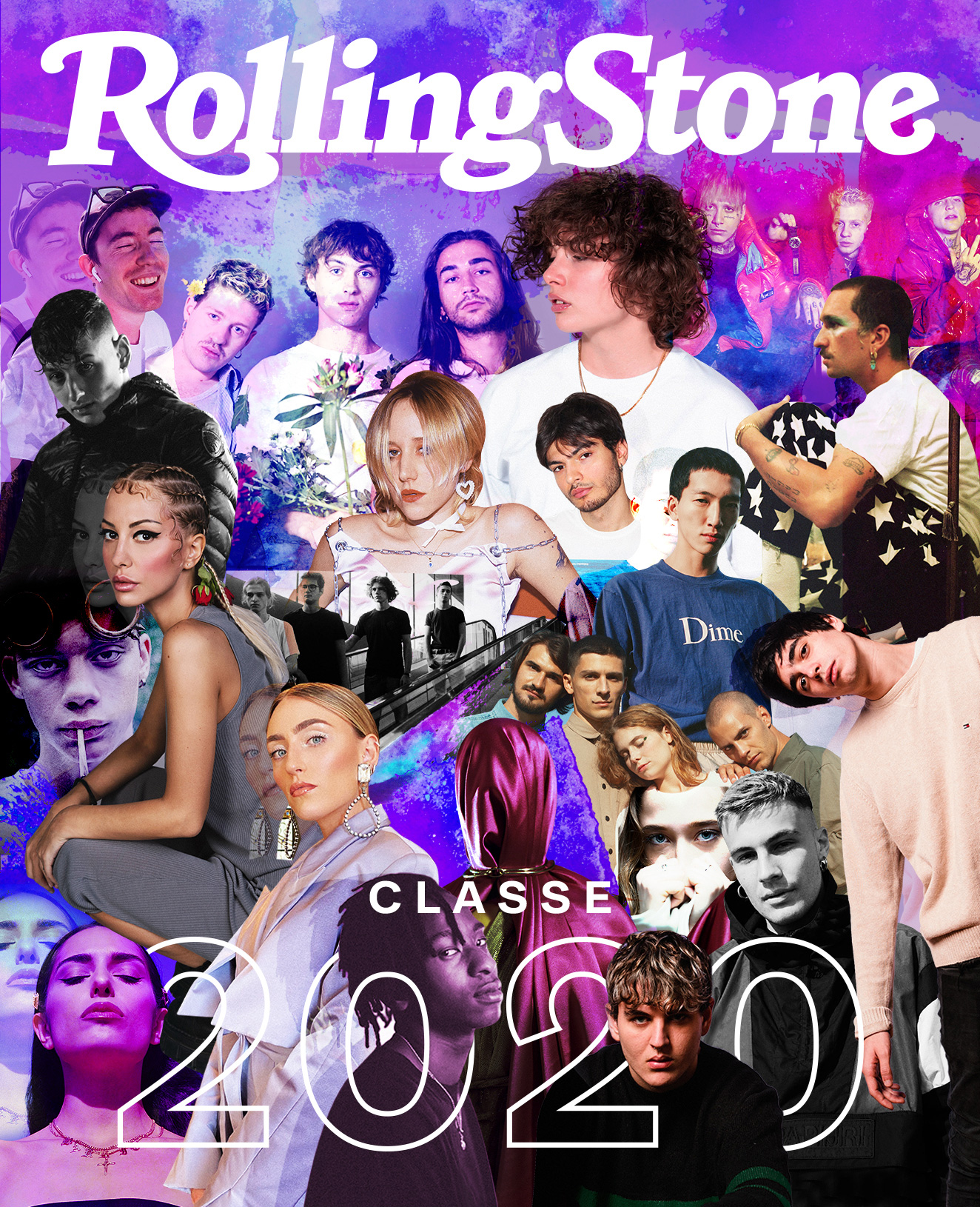 Classe 2020 digital cover Rolling Stone Italia