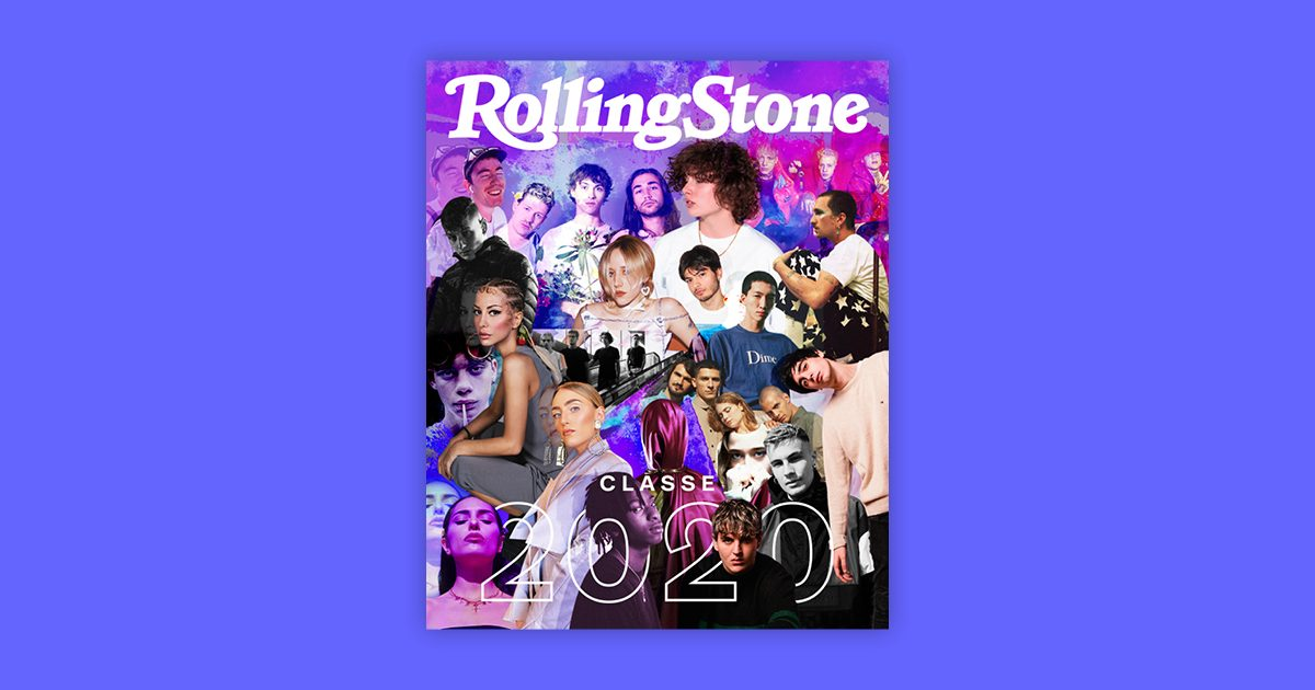 Classe 2020 cover rolling stone
