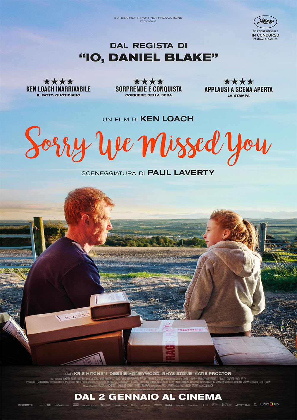 Sorry we missed you - Ken Loach