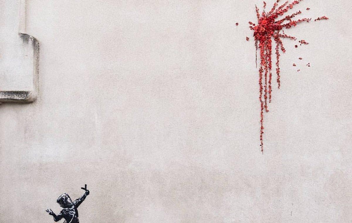 Banksy è tornato per San Valentino
