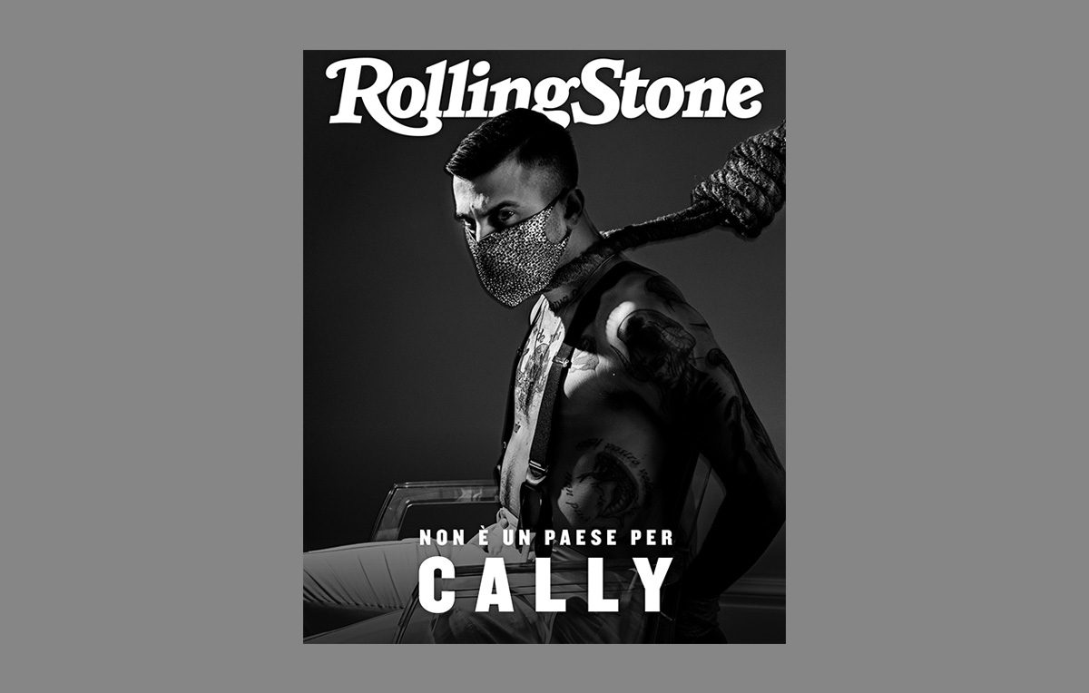 Junior Cally cover rolling stone sanremo 2020