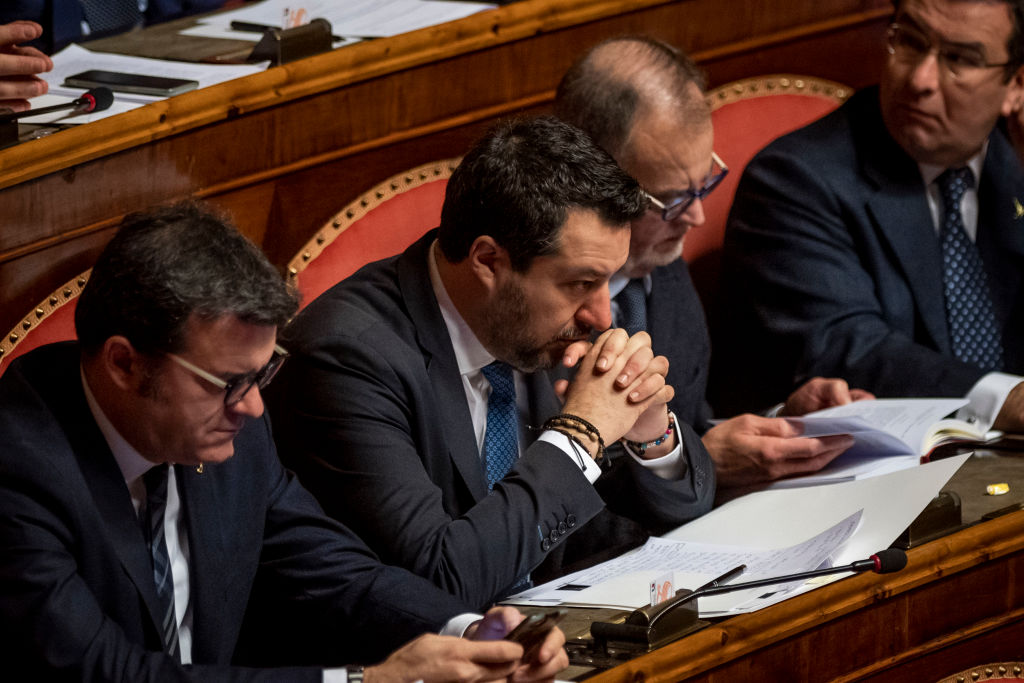 Il Senato ha votato per mandare a processo Salvini per il caso Gregoretti
