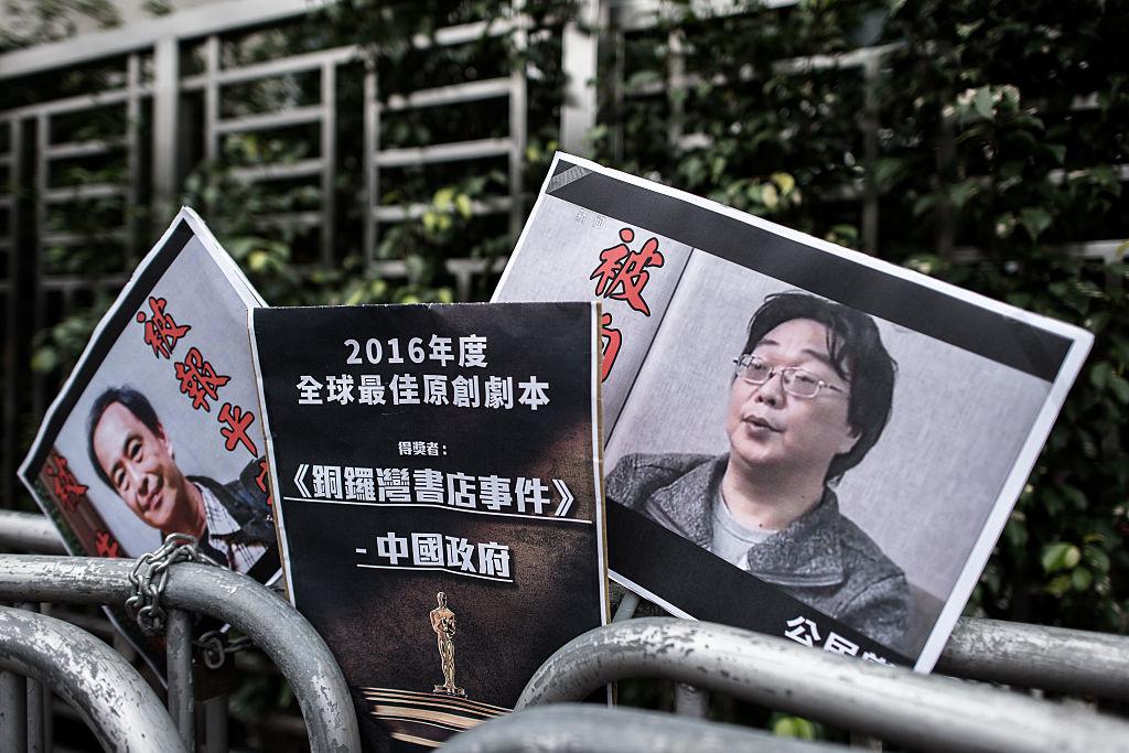 L'editore di Hong Kong condannato a 10 anni di carcere per i libri che ha pubblicato