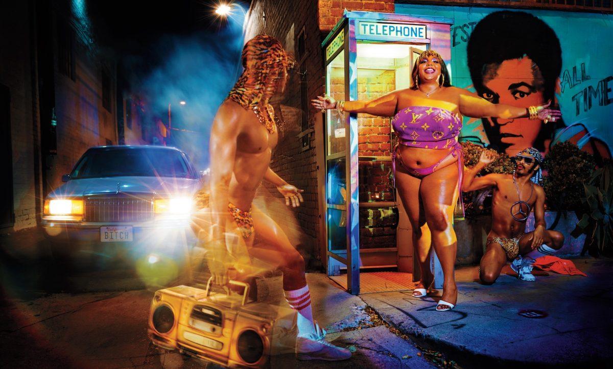 Lizzo fotografata da David LaChapelle per Rolling Stone USA