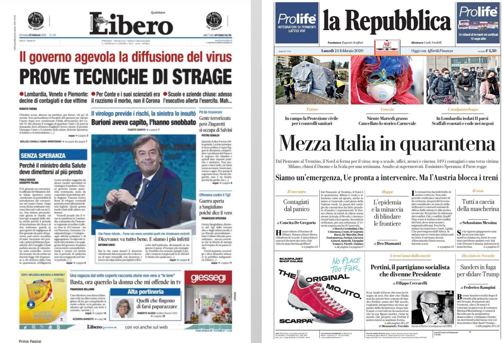 Tutto quello che i media italiani stanno sbagliando nel raccontare il coronavirus