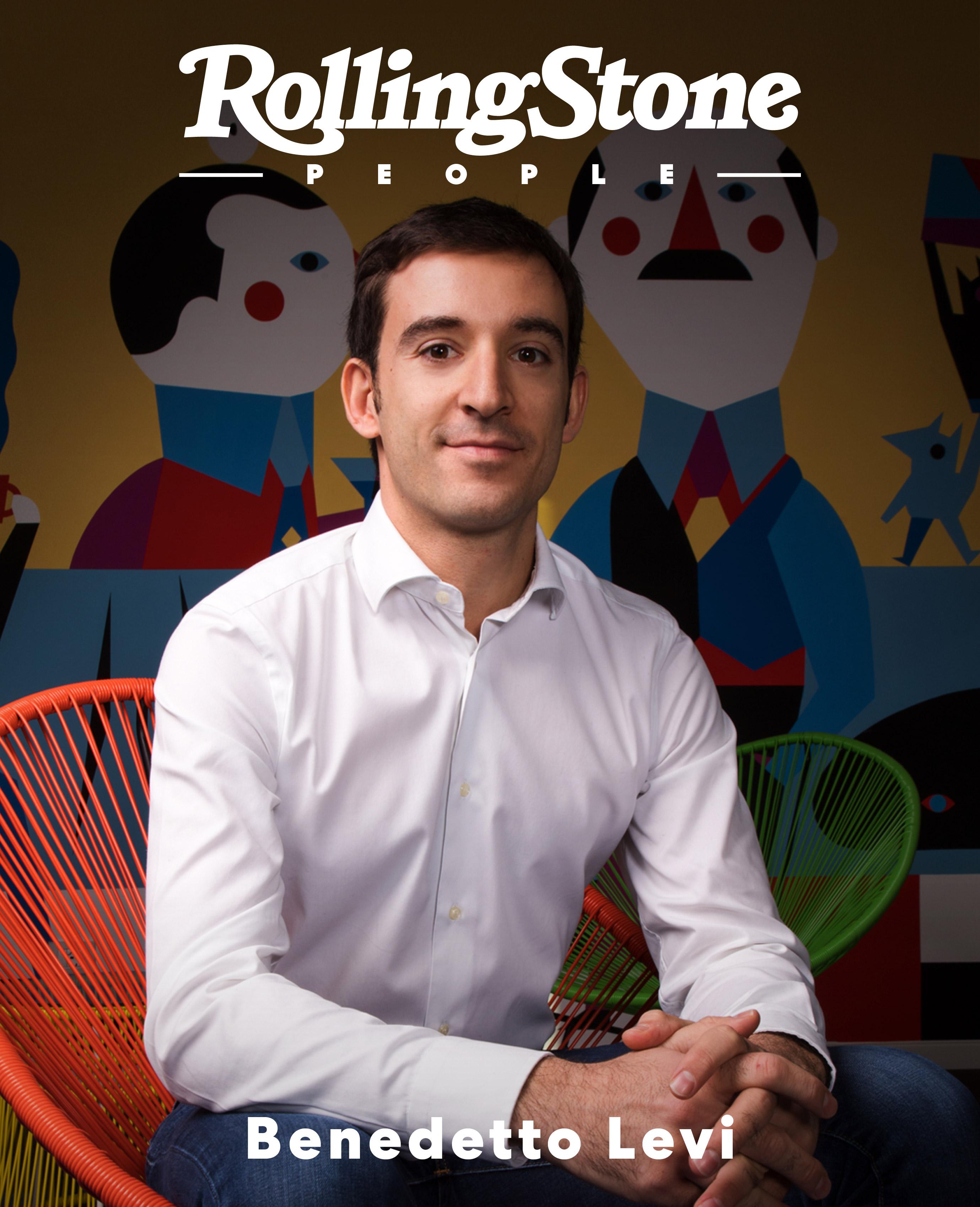 Benedetto Levi digital cover Rolling Stone Italia
