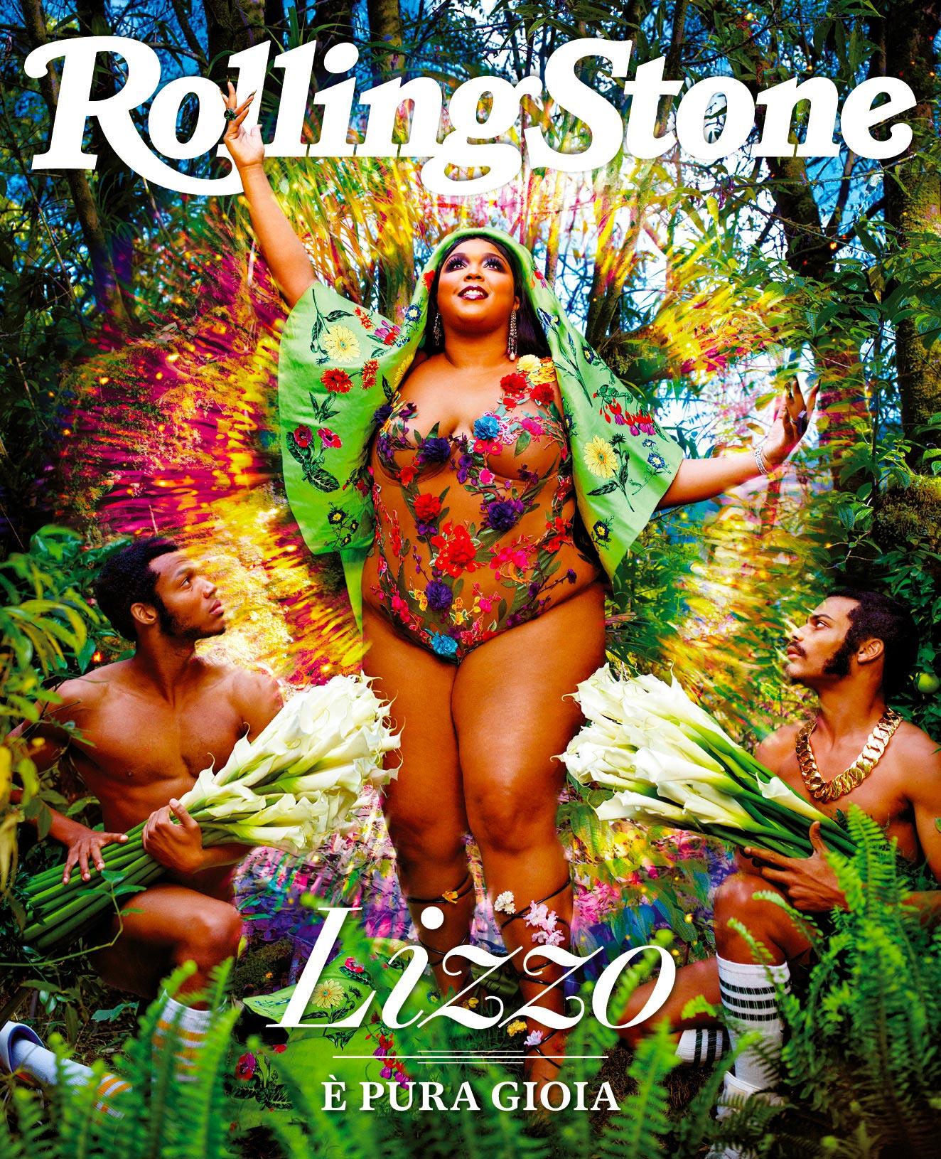 Lizzo digital cover Rolling Stone Italia