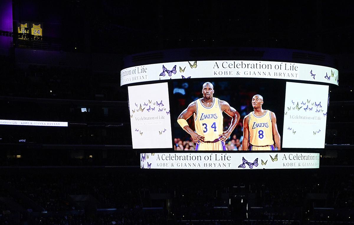 Beyoncé, Alicia Keys, Michael Jordan: i momenti più belli del Kobe Bryant Memorial