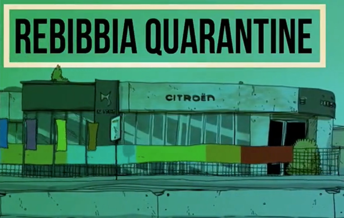 Rebibbia quarantine', guarda il secondo episodio della serie cartoon di  Zerocalcare   Rolling Stone Italia