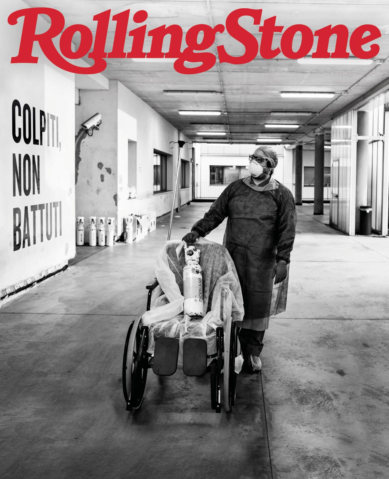Covid-19 digital cover Rolling Stone Italia