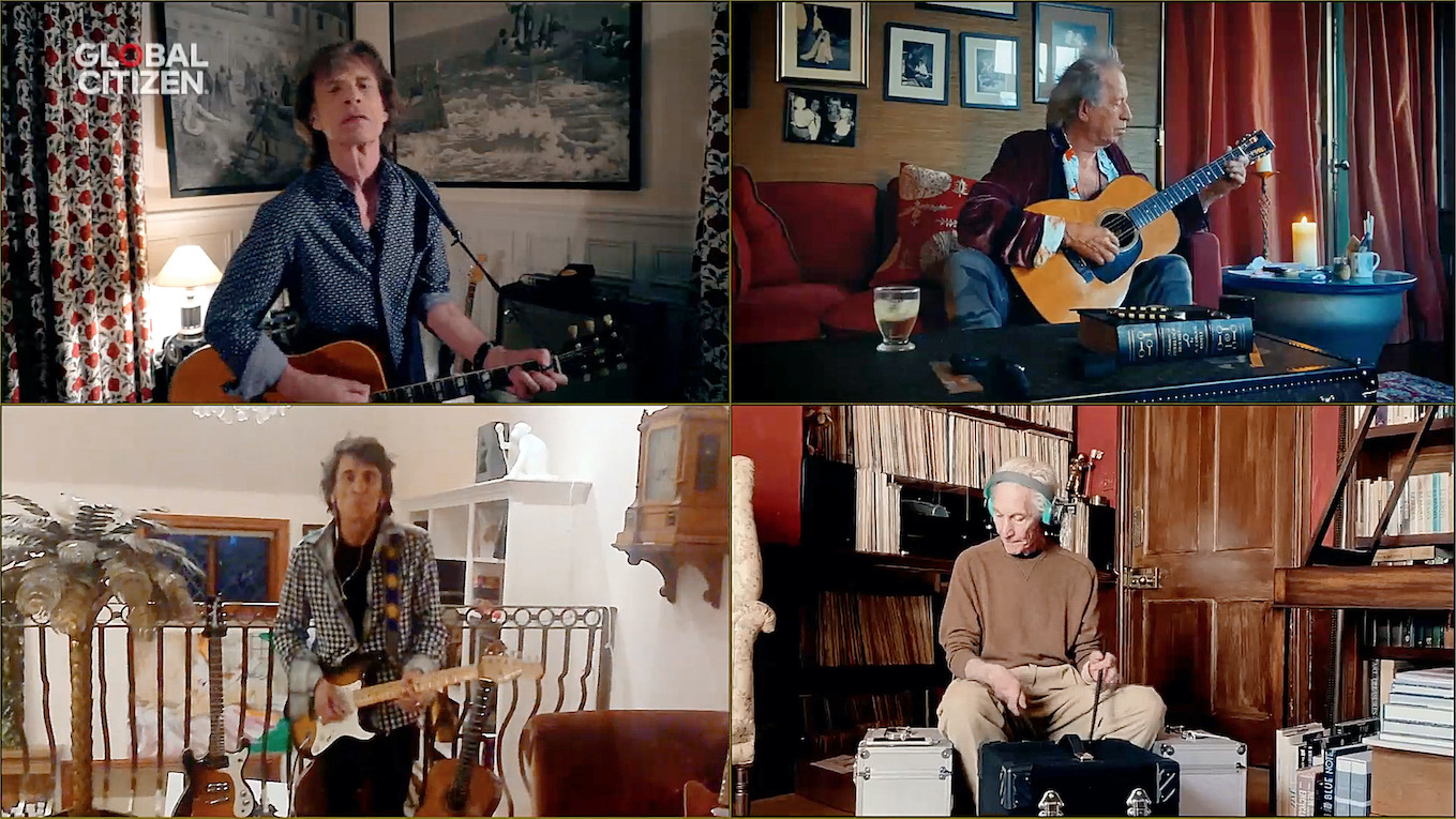 I Rolling Stones a One World: Together At Home