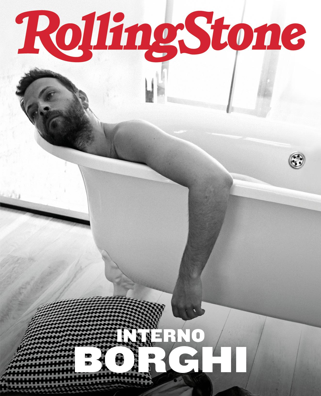 Alessandro Borghi digital cover Rolling Stone Italia