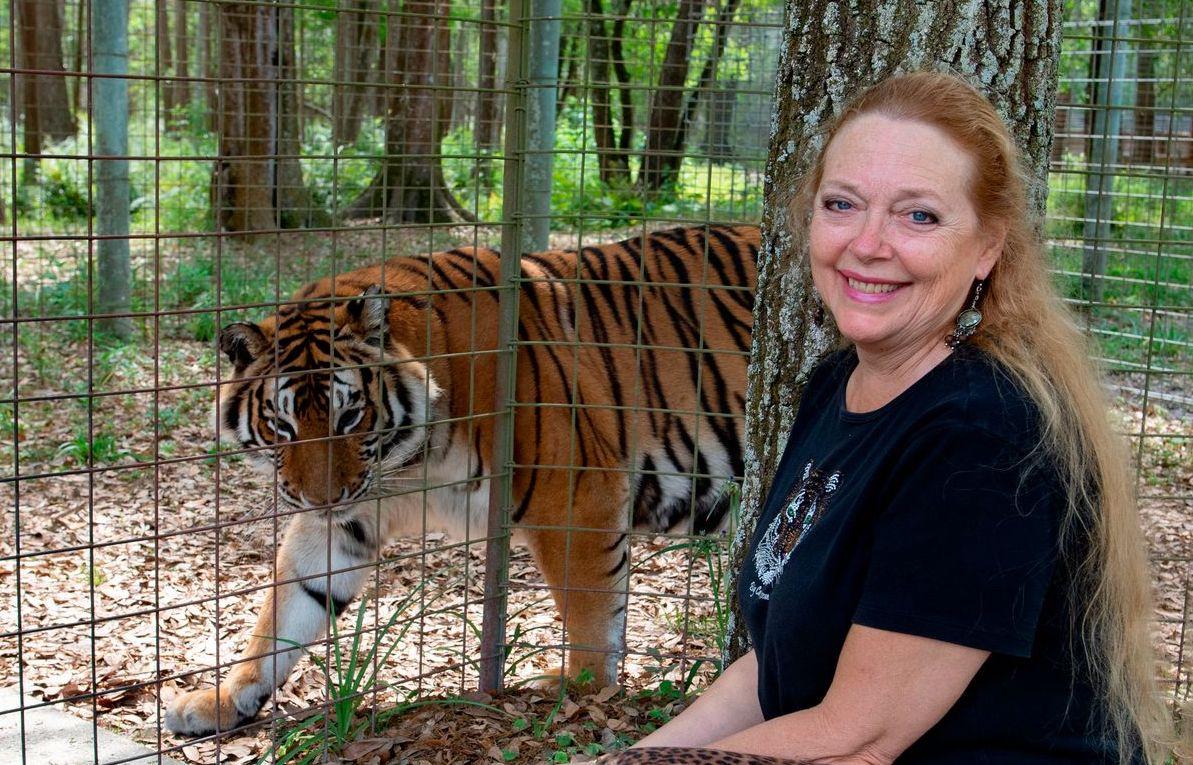 Carole Baskin ha ottenuto il controllo sullo zoo di Joe Exotic