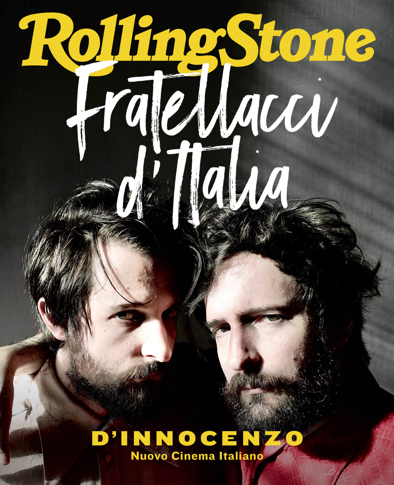 Fratelli D'Innocenzo digital cover Rolling Stone Italia