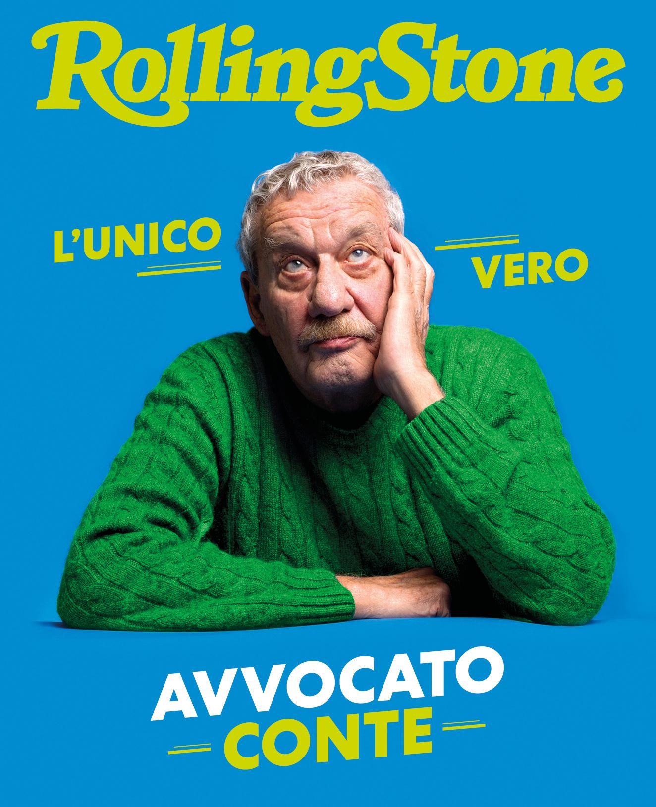 Paolo Conte digital cover Rolling Stone Italia
