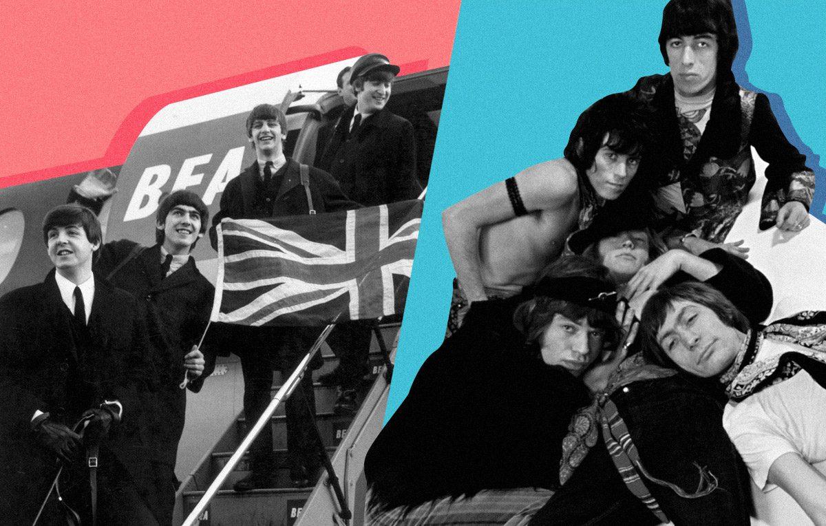 Beatles & The Rolling Stones | Artwork Stefania Magli