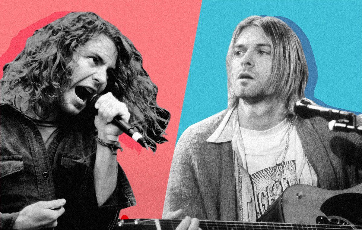 Pearl Jam & Nirvana | Artwork Stefania Magli