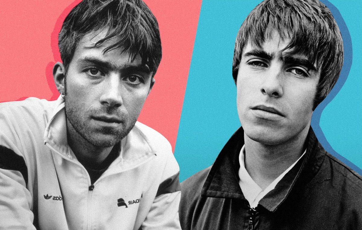 Blur & Oasis | Artwork Stefania Magli