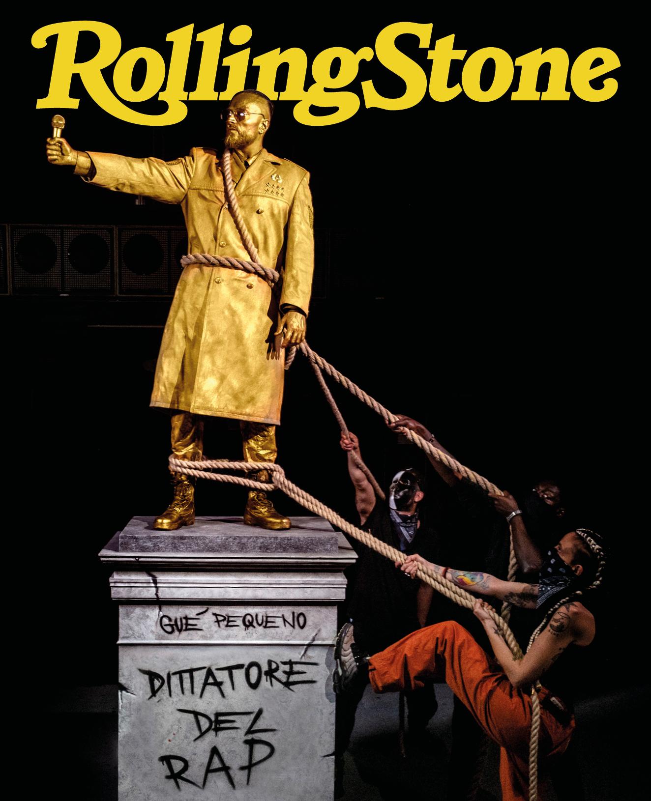 Gué Pequeno digital cover Rolling Stone Italia