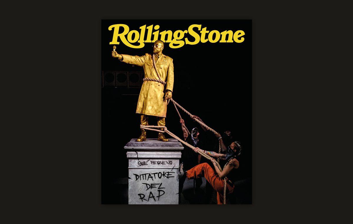 Gué Pequeno dittatore del rap rolling stone