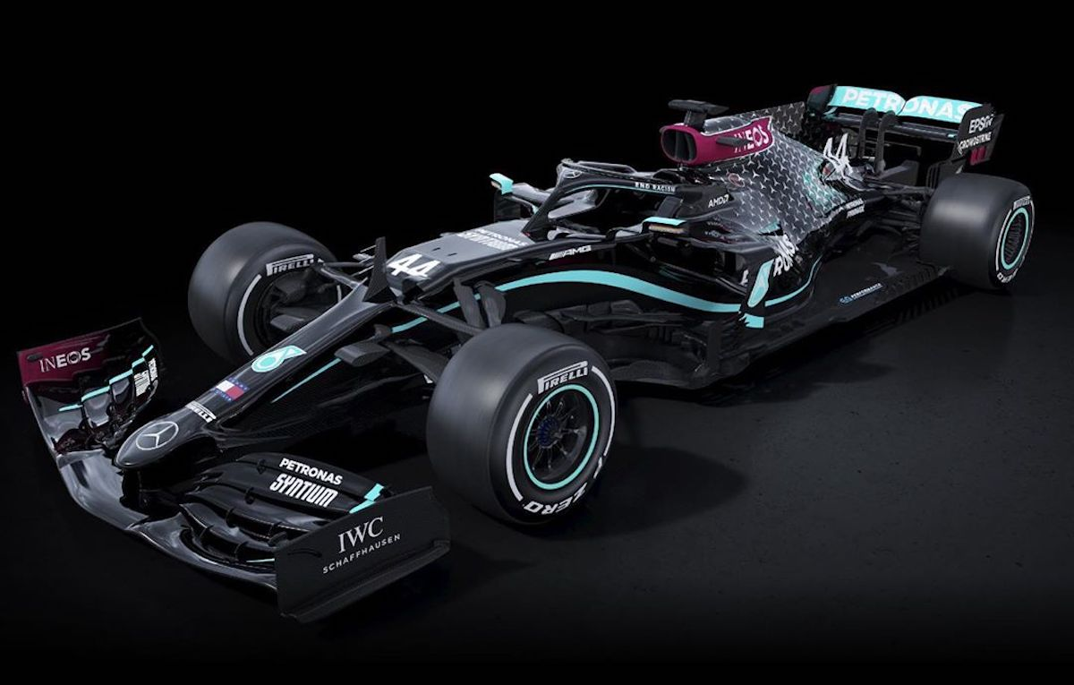F1, la Mercedes 2020 avrà una nuova livrea: nera e antirazzista