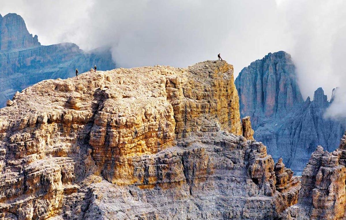Un workshop fotografico ad alta quota sul Monte Lagazuoi