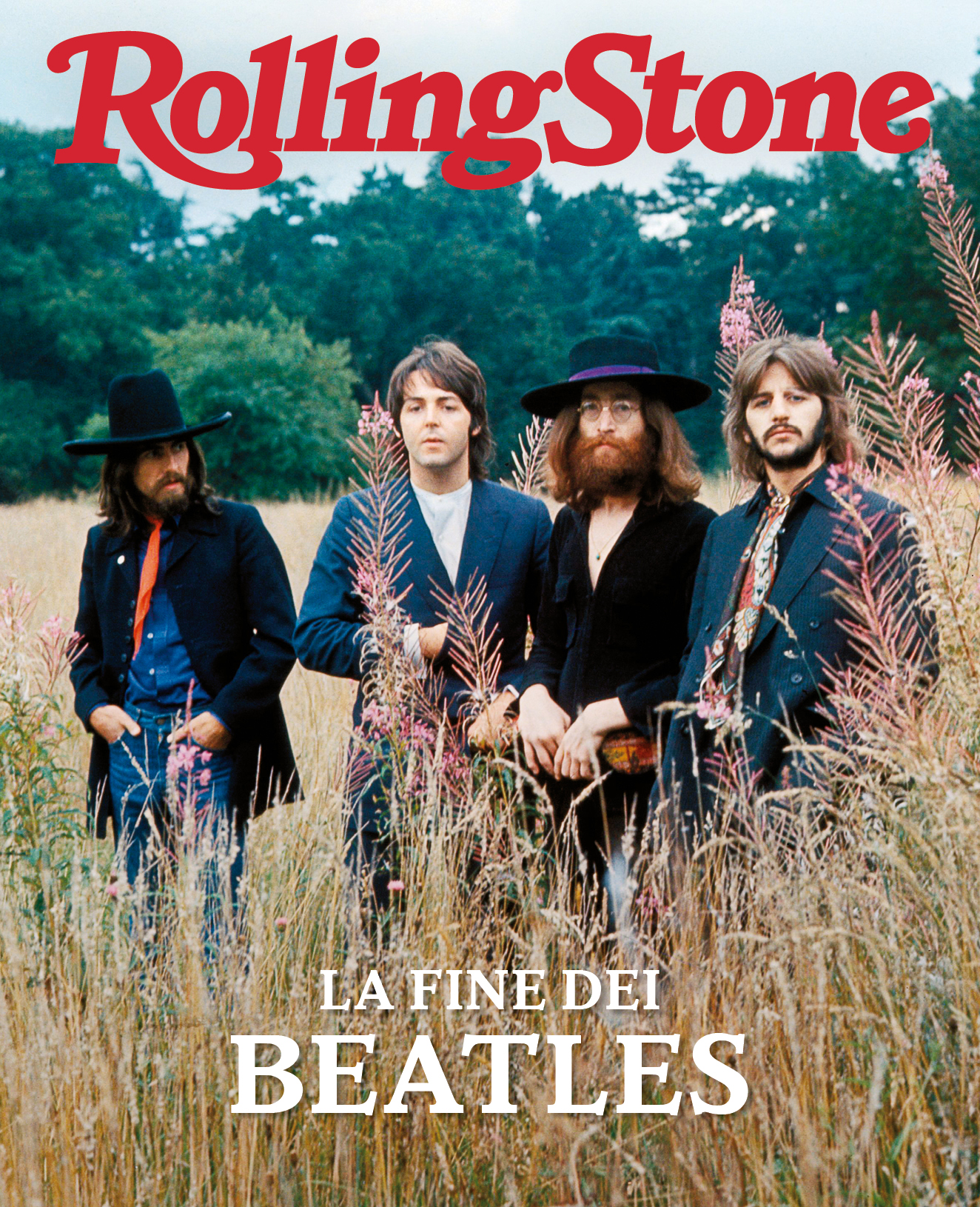 The Beatles digital cover Rolling Stone Italia