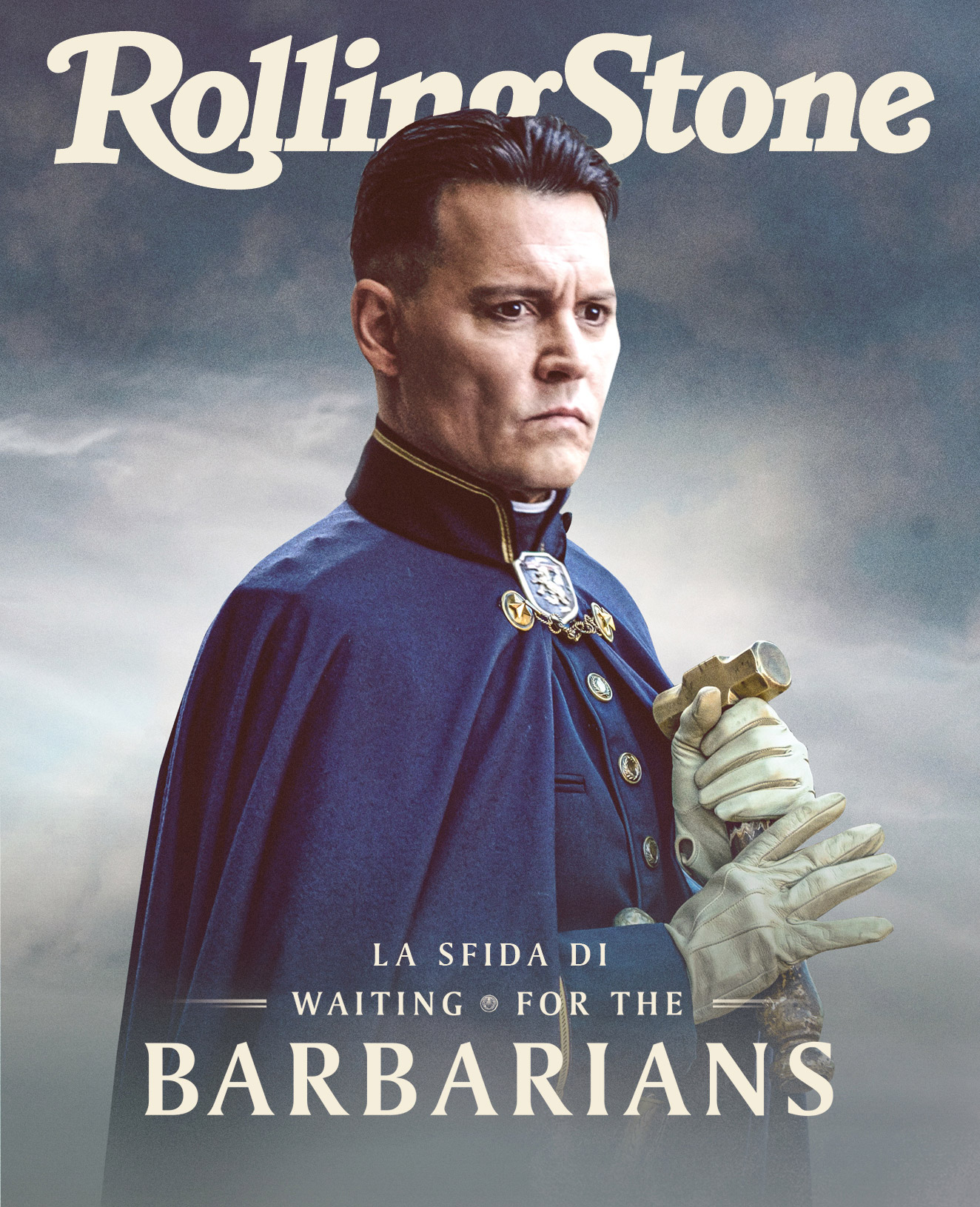 Waiting for the barbarians digital cover Rolling Stone Italia