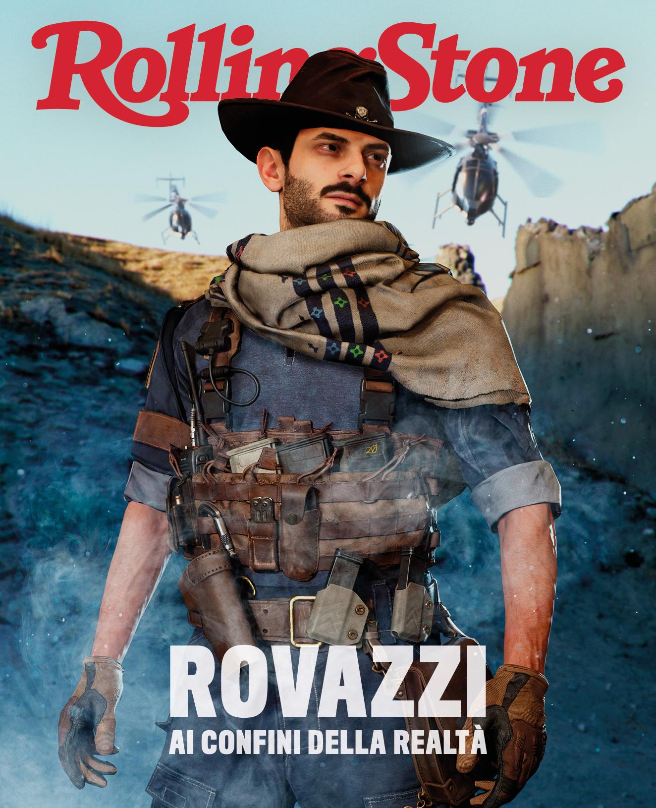 Fabio Rovazzi digital cover Rolling Stone Italia