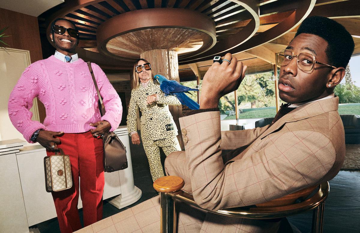 A$AP Rocky, Iggy Pop e Tyler, The Creator sono i volti della nuova campagna Gucci