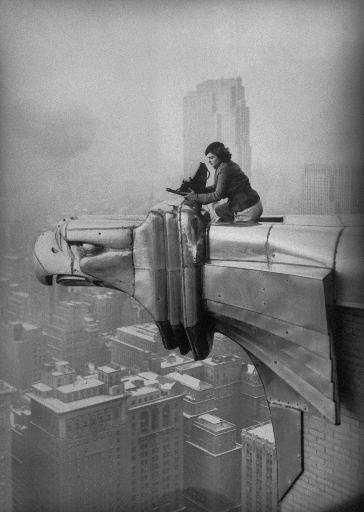 Prima, donna. Margaret Bourke White in mostra a Milano   Rolling ...