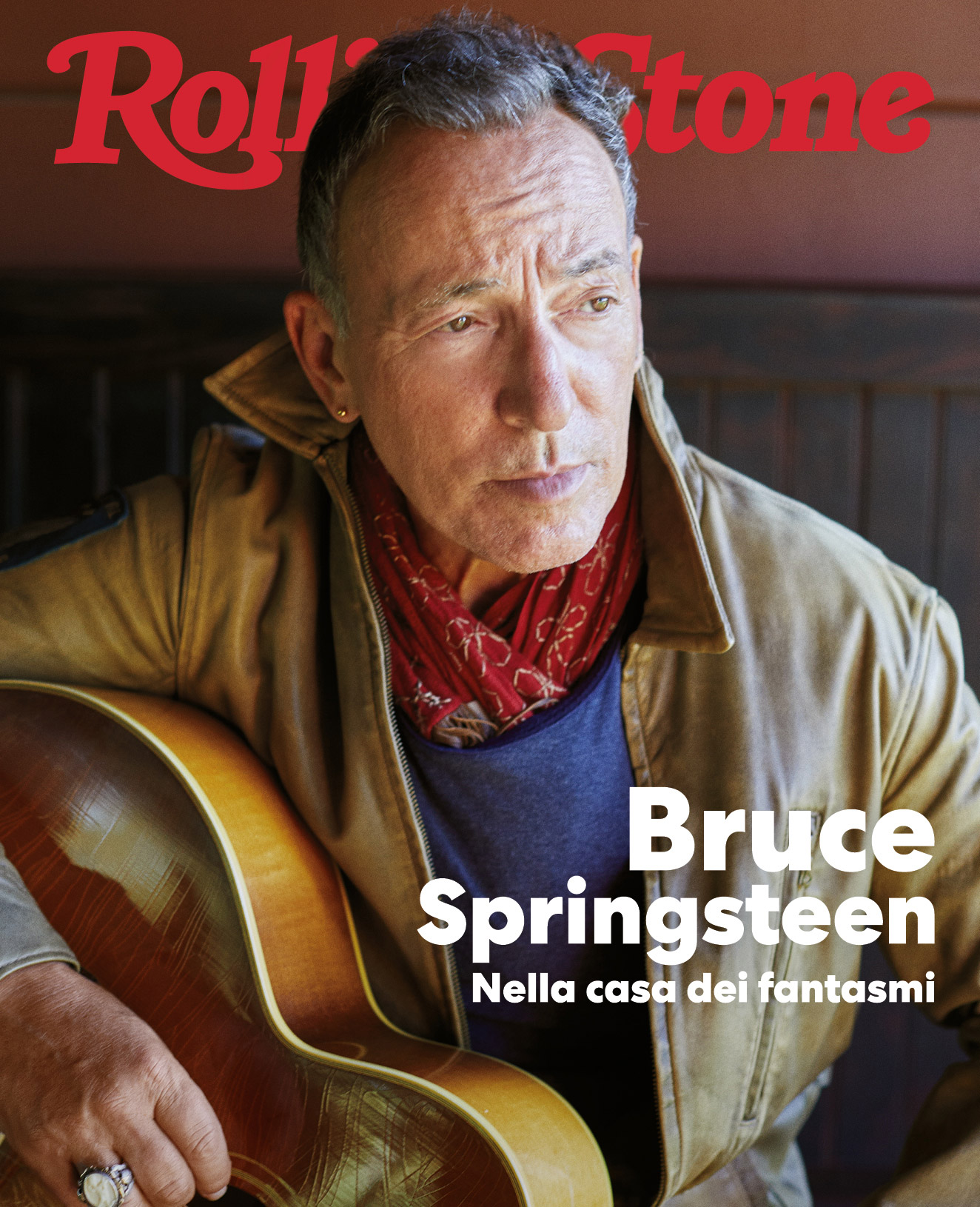 Bruce Springsteen digital cover Rolling Stone Italia
