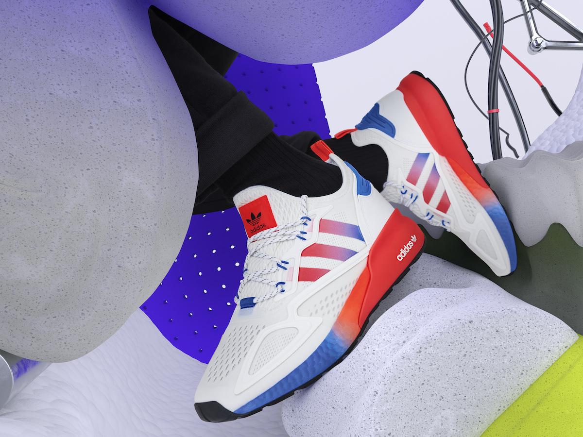 Adidas ZX 2K Boost, la sneaker del futuro che viene dal passato