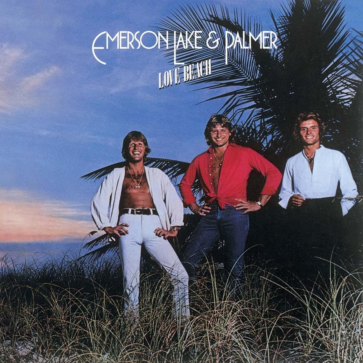 Emerson Lake Palmer Love Beach