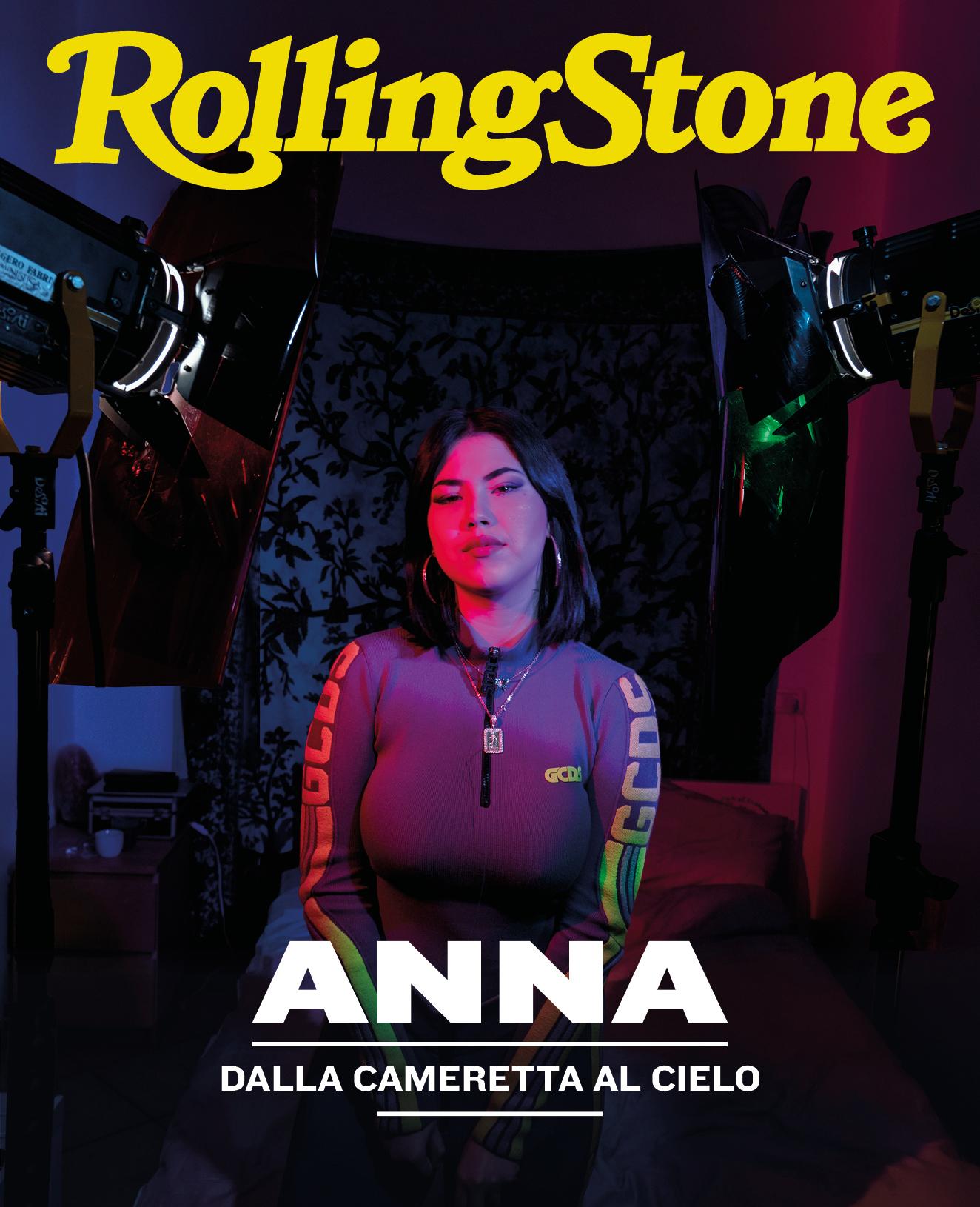 Anna digital cover Rolling Stone Italia