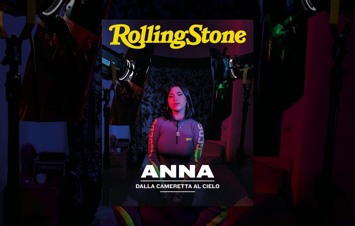 Anna cover rolling stone italia servizio di Gabriele Micalizzi