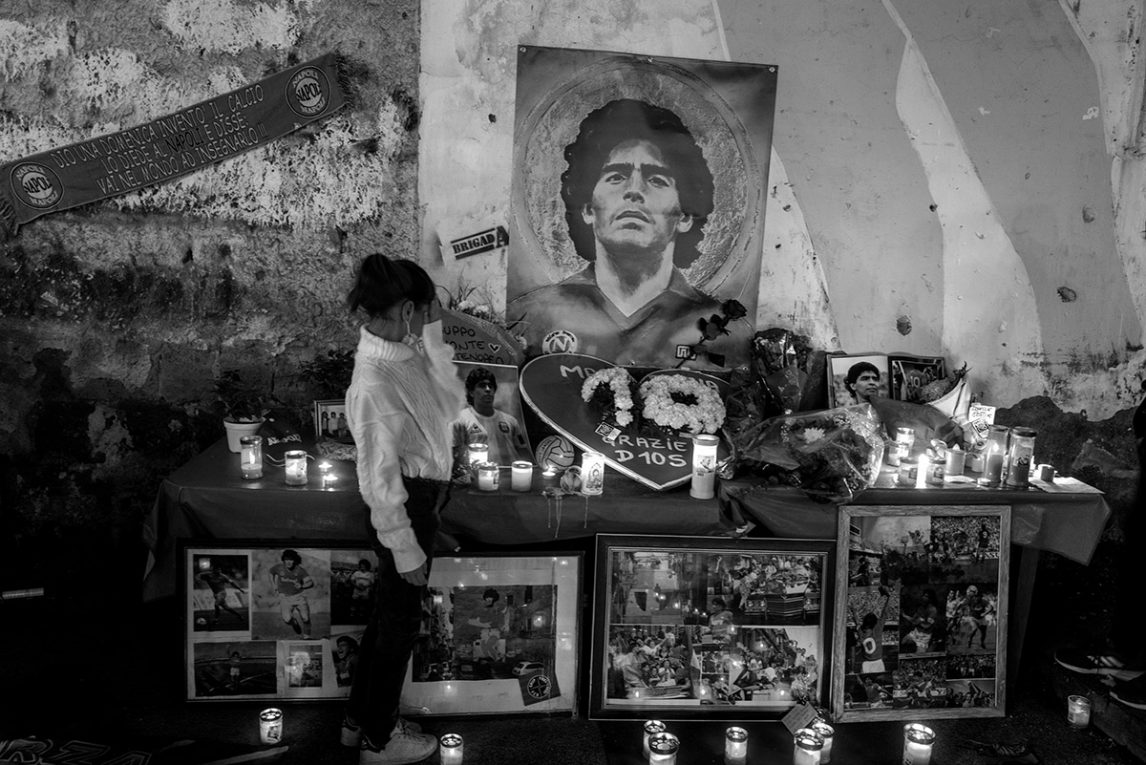 Maradona Napoli Funerale