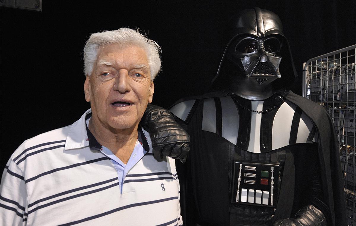 È morto David Prowse, era Darth Vader nella prima trilogia di 'Star Wars'