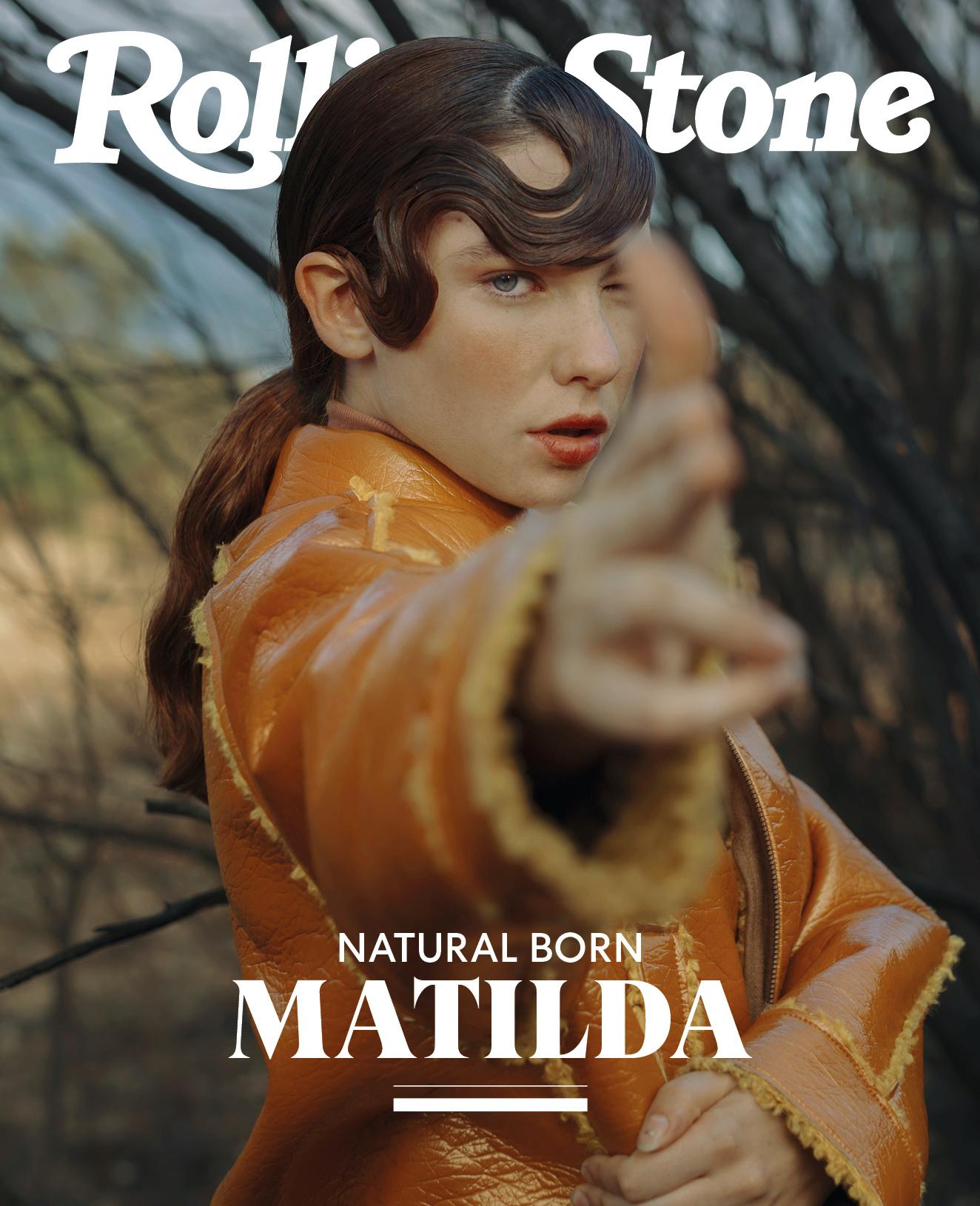 Matilda De Angelis digital cover Rolling Stone Italia