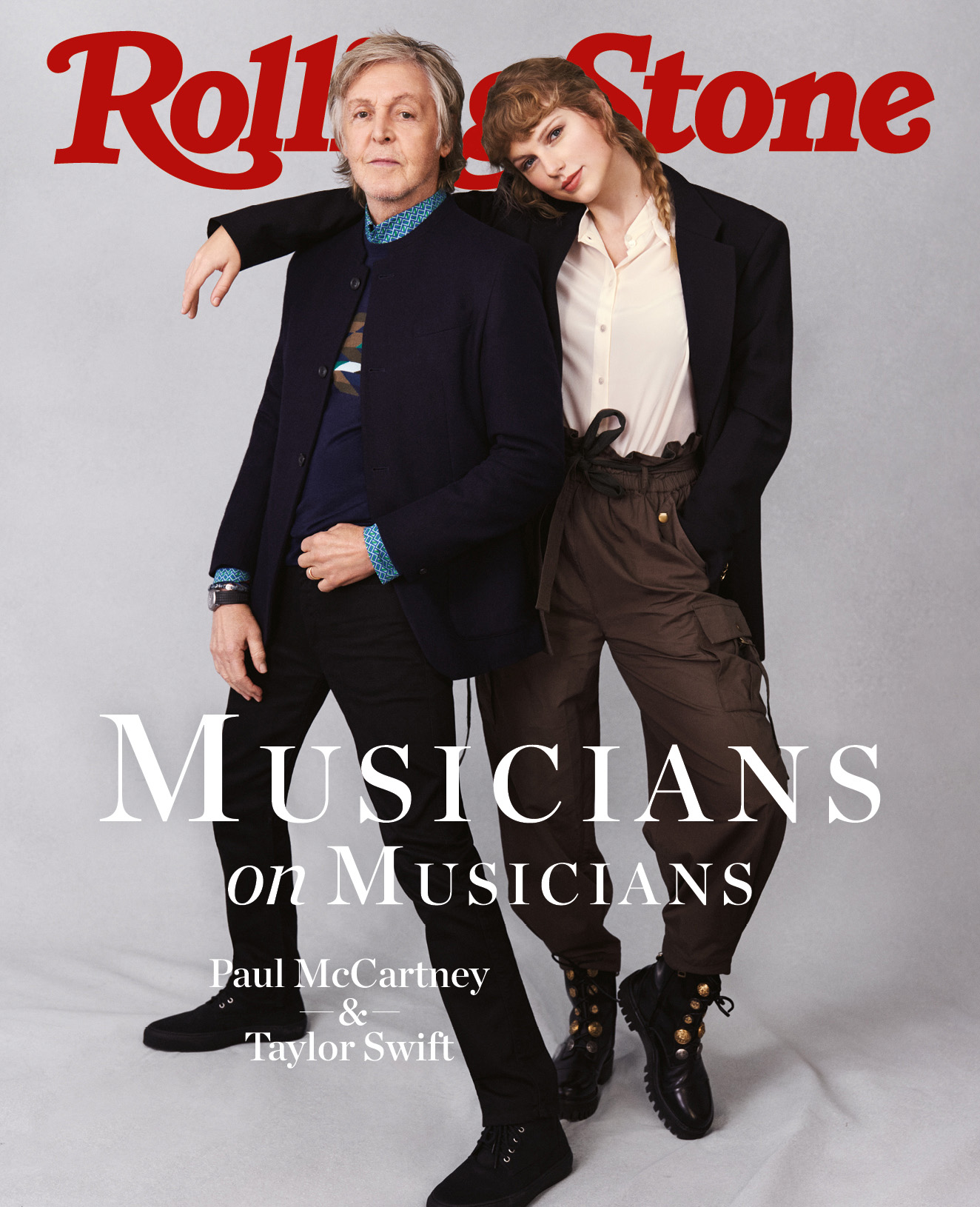 Paul McCartney, Taylor Swift digital cover Rolling Stone Italia