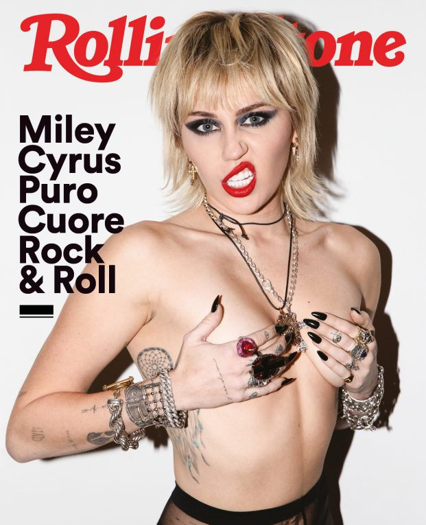 Cover Miley Cyrus Rolling Stone