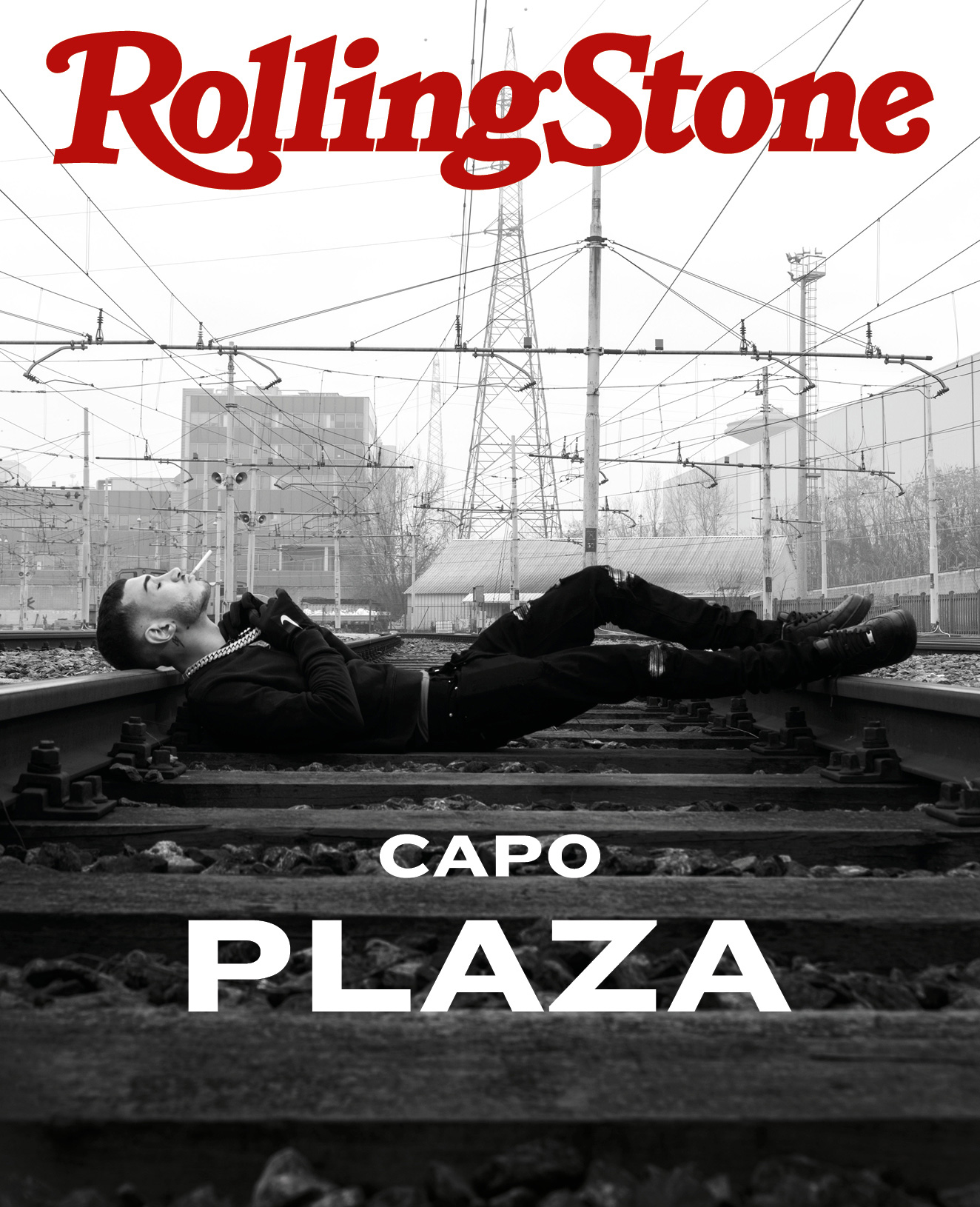 Capo Plaza digital cover Rolling Stone Italia