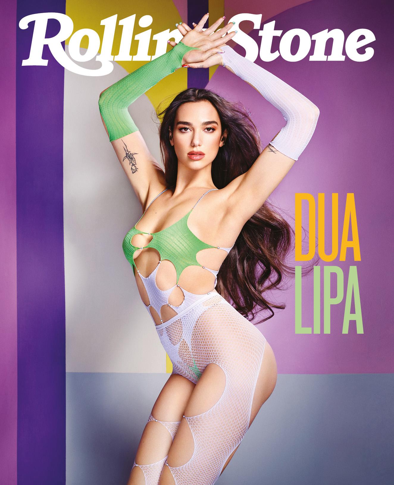 Dua Lipa digital cover Rolling Stone Italia