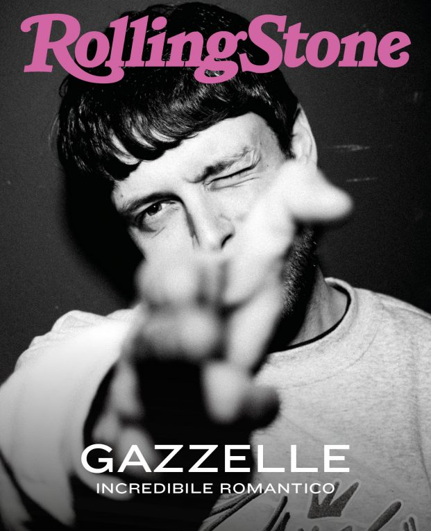 Gazelle sulla digital cover di rolling stone italia
