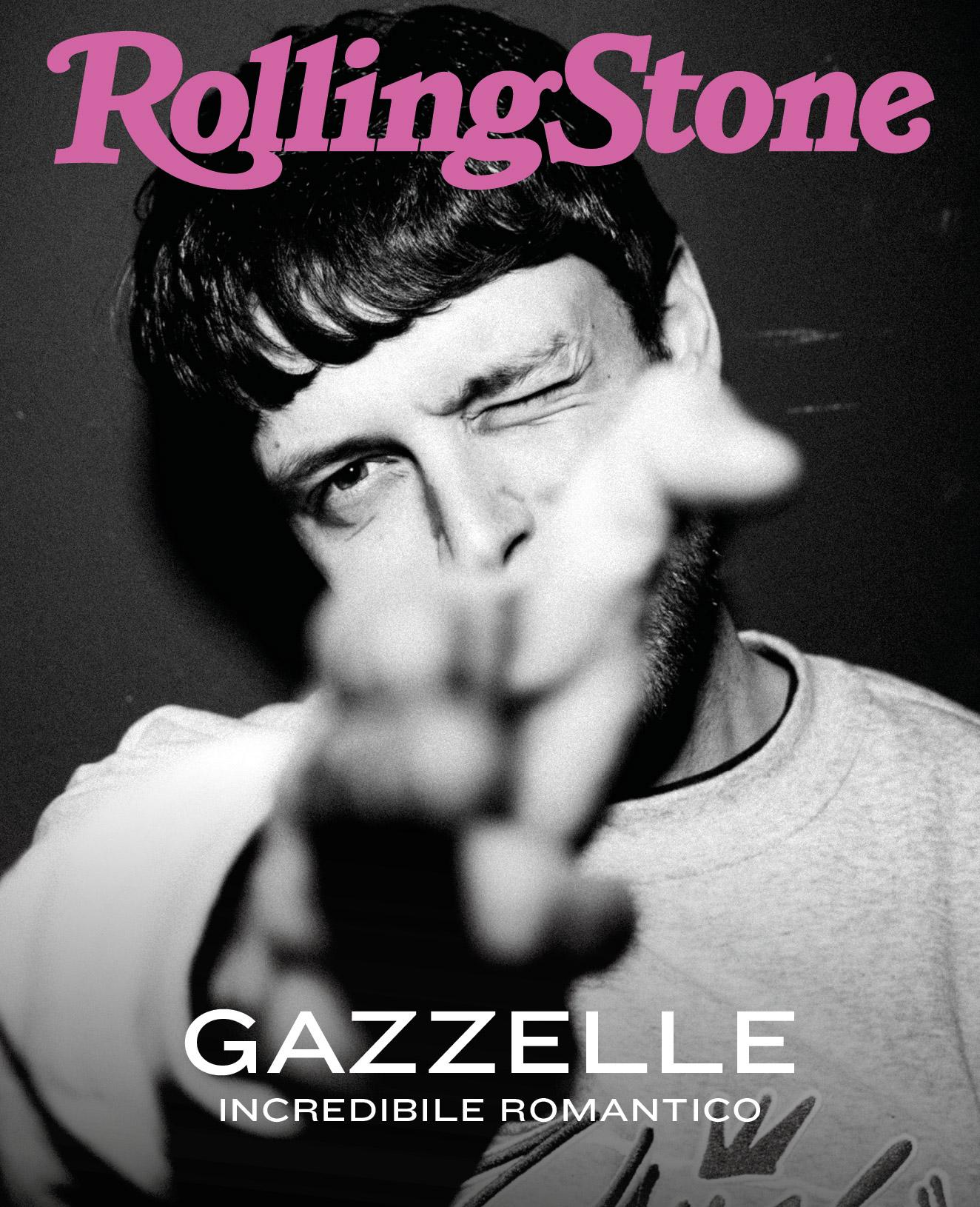 Gazzelle digital cover Rolling Stone Italia