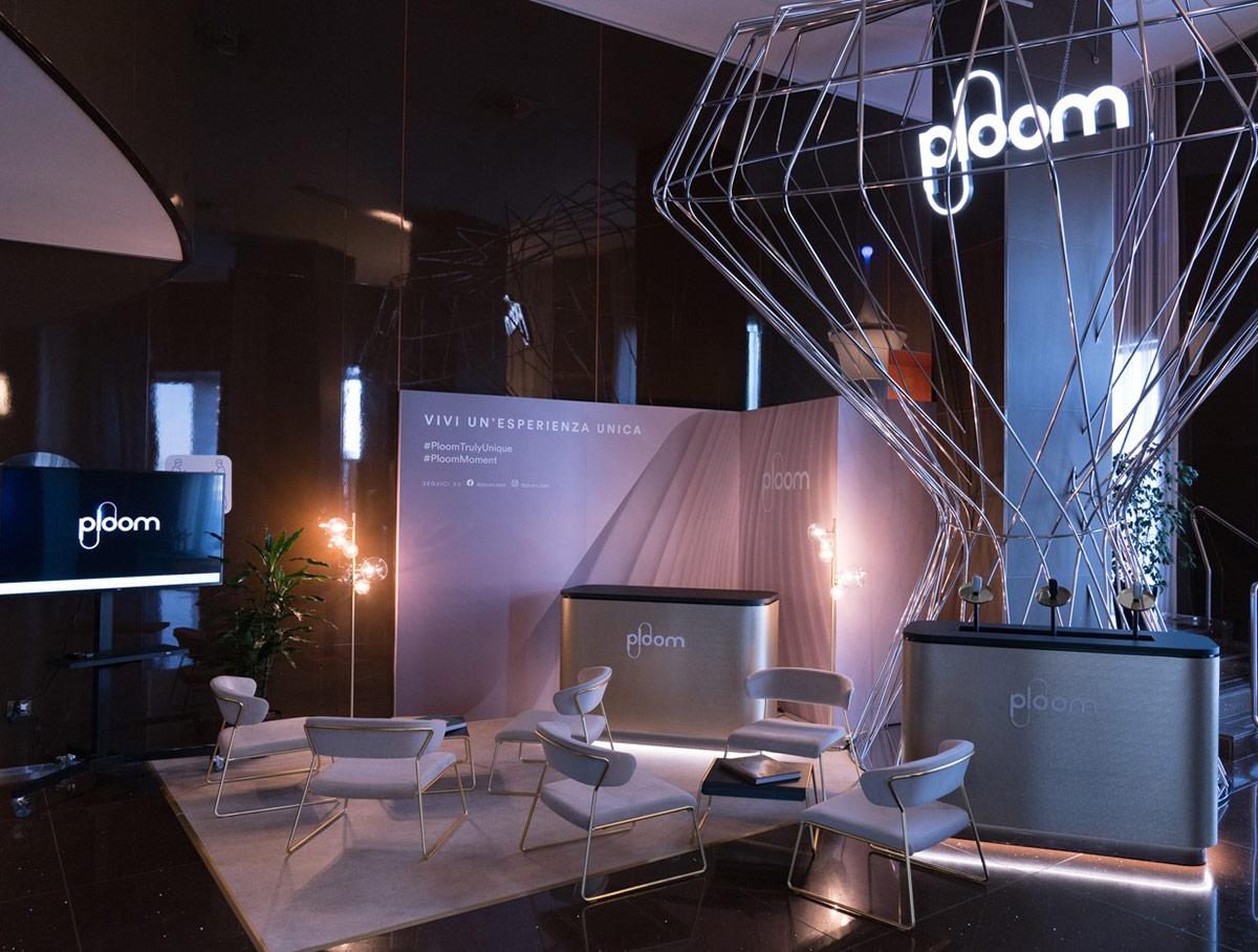 Una foto del Ploom Space a Bari