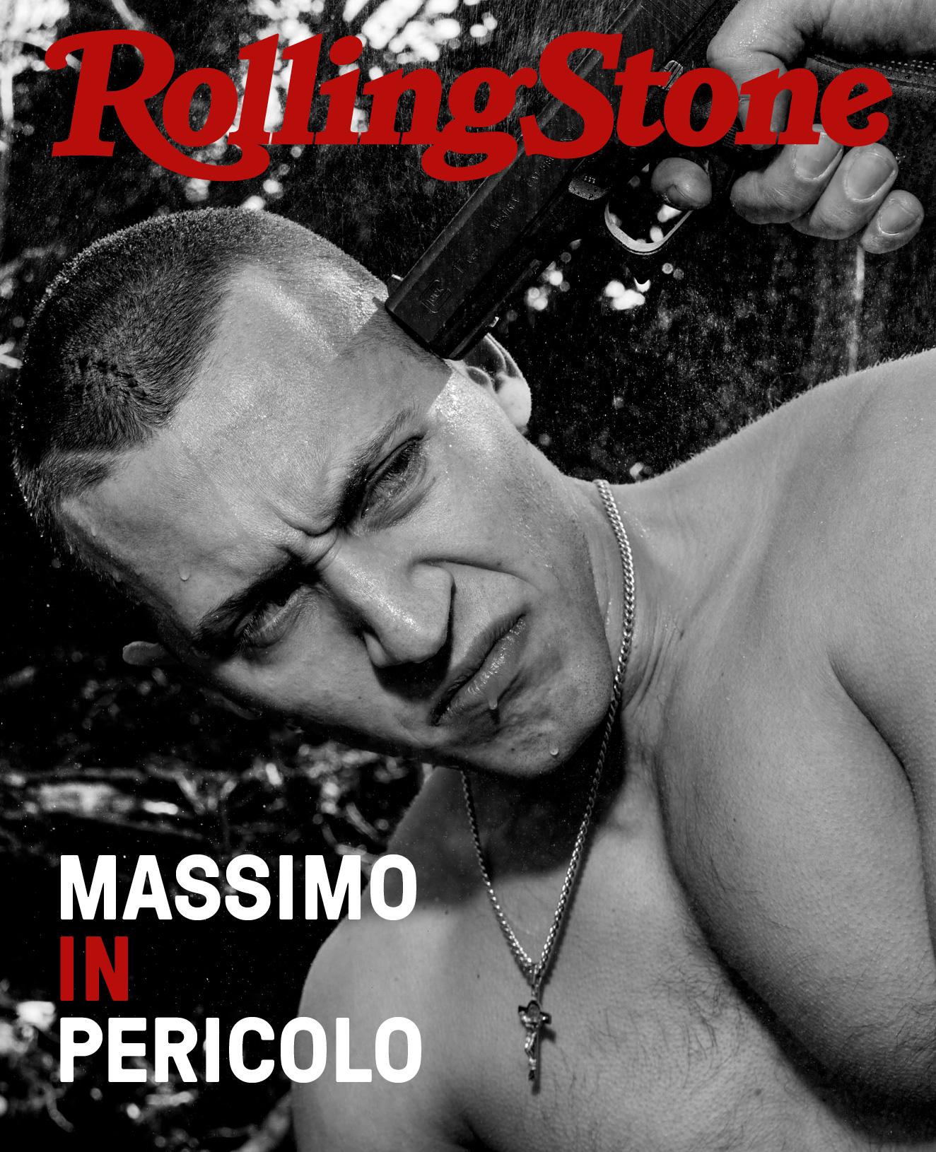 Massimo Pericolo digital cover Rolling Stone Italia