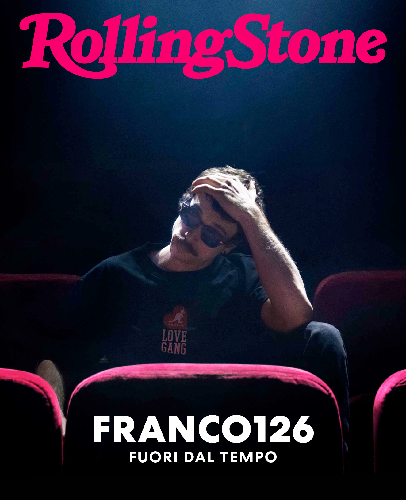 Franco 126 digital cover Rolling Stone Italia
