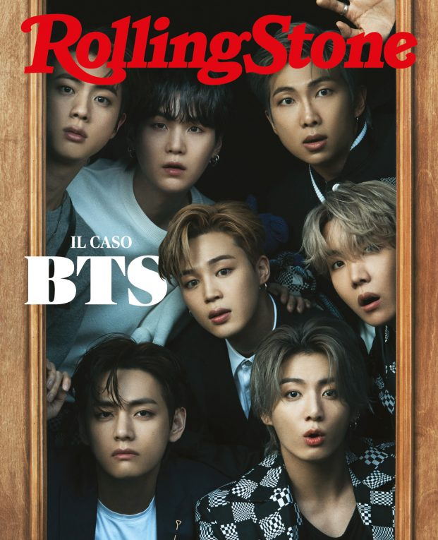 BTS cover rolling stone