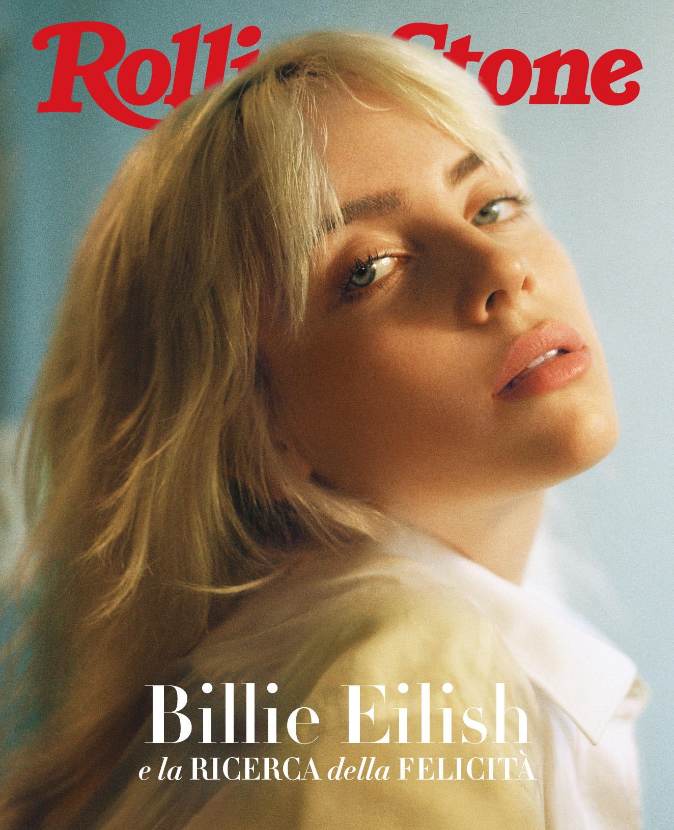 Billie Eilish digital cover Rolling Stone Italia
